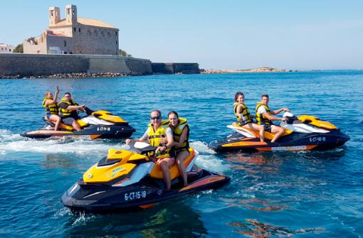 Excursion en moto de agua, Santa Pola, Alicante